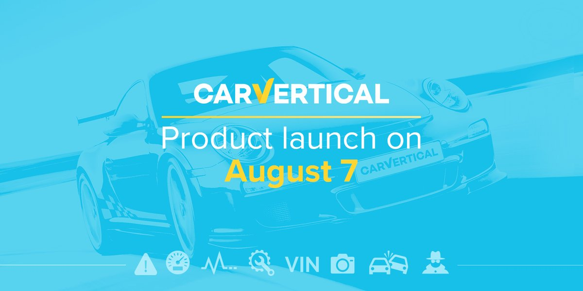 carVertival product launch op 7 augustus!