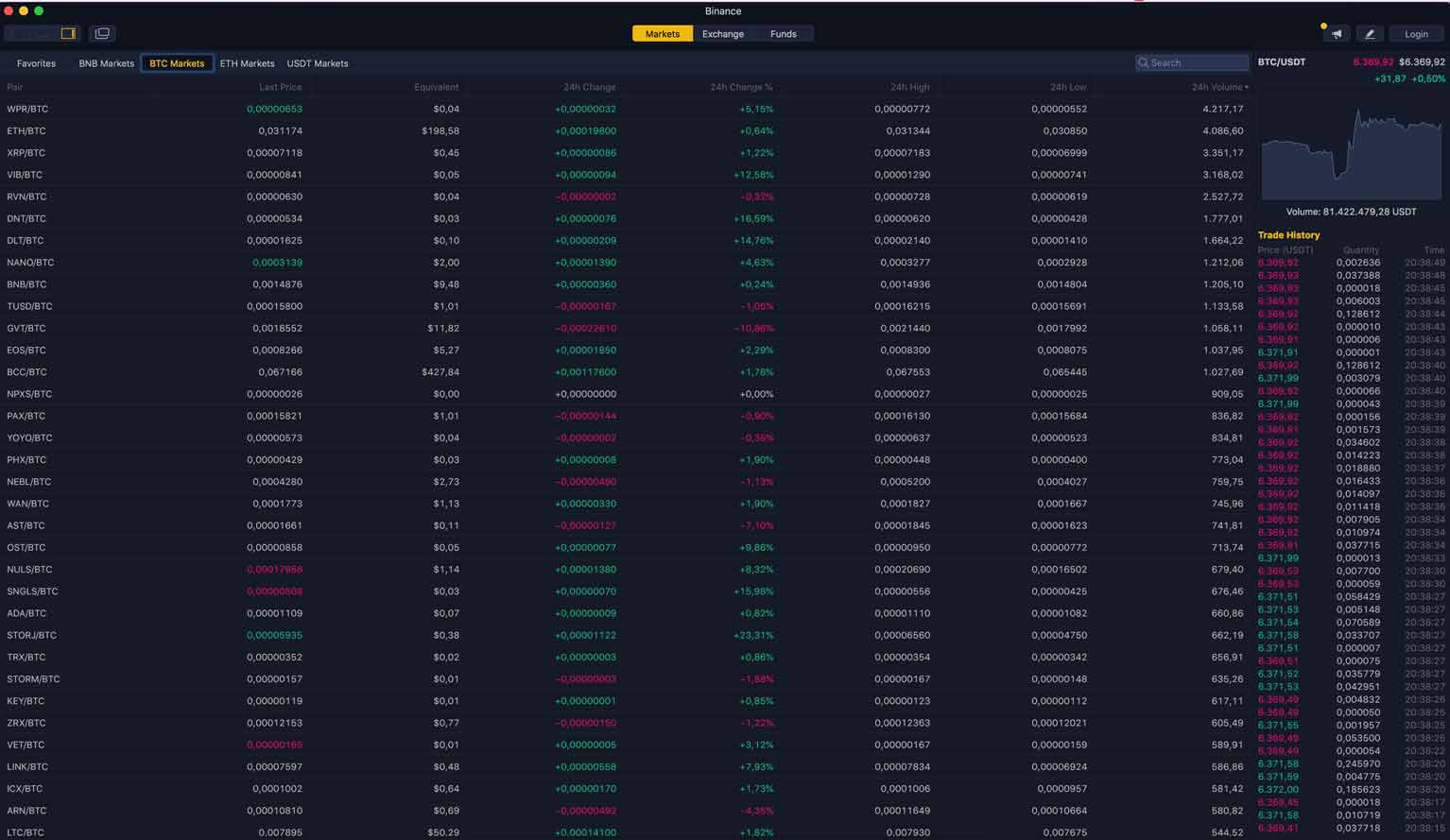 binance desktop